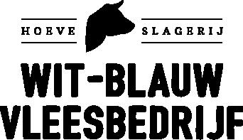 Wit-blauw Vleesbedrijf logo